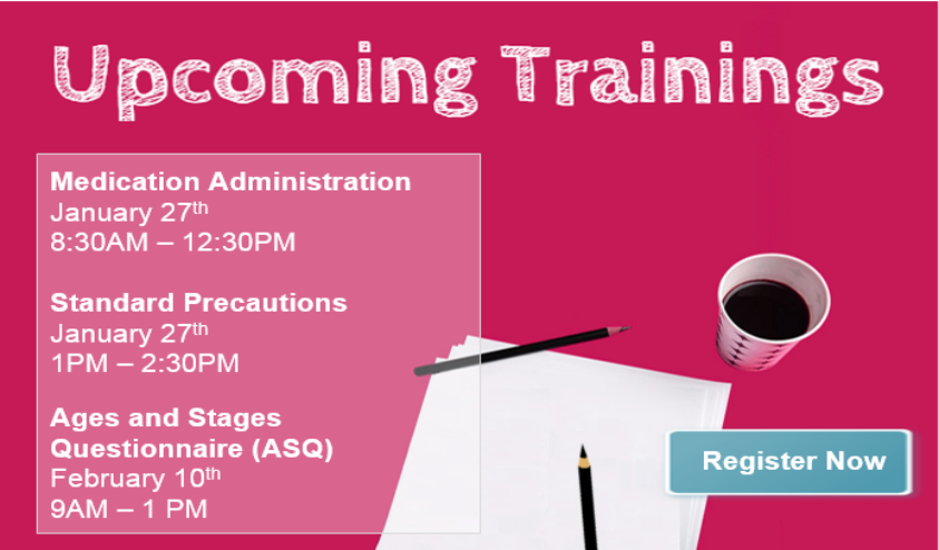 Upcoming Trainings October 2017
